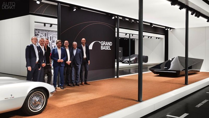 Grand Basel preview Giorgetto Giugiaro Paolo Tumminelli Rem D Koolhaas car show